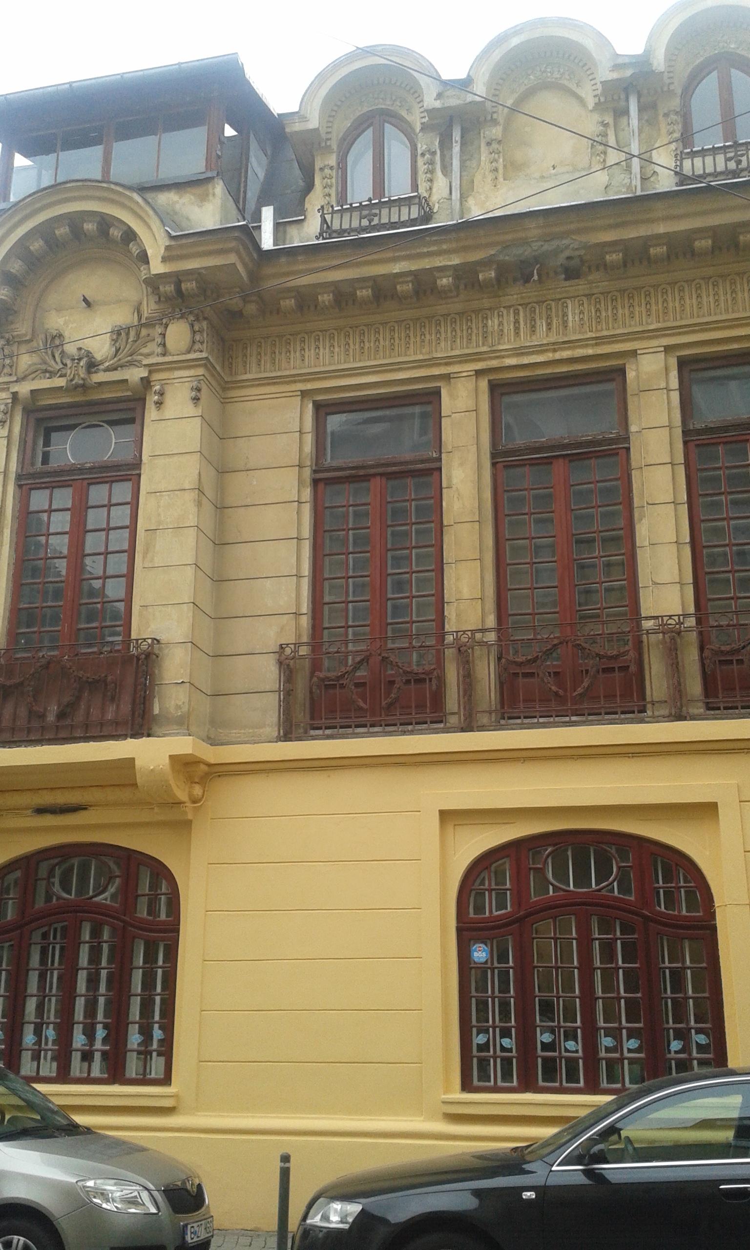 Vila monument Calea Victoriei