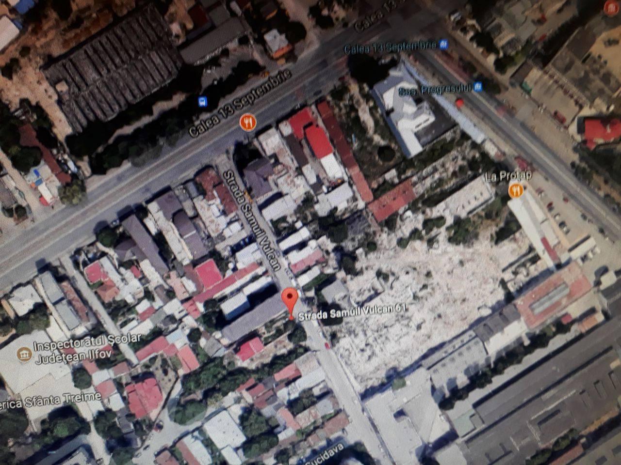 Teren 13 Septembrie pentru blocuri